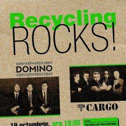 Recycling Rocks! azi la Sibiu cu Cargo si Domino