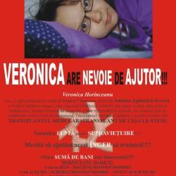 Mediesenii au mai donat 12.123 lei pentru Veronica Horinceanu