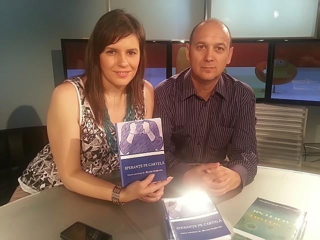 La TVR Cluj cu Irina Gaspar