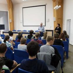 Elevi din Schwäbisch Hall in vizita la Medias