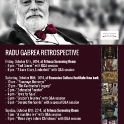 Retrospectiva Radu Gabrea la New York