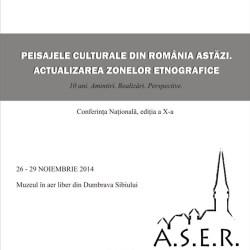 Conferinta Nationala cu tema Peisajele culturale din Romania