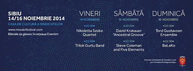 Program Mozaic Jazz Festival