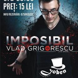 Concurs: Castiga o invitatie dubla la show-ul lui Vlad Grigorescu