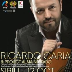 Ricardo Caria aduce muzica fado la Sibiu