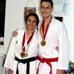 CS Ippon Medias: Andreea Topa, campioana mondiala UWK