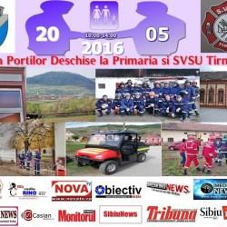Porti deschise la Primaria si SVSU Tirnava