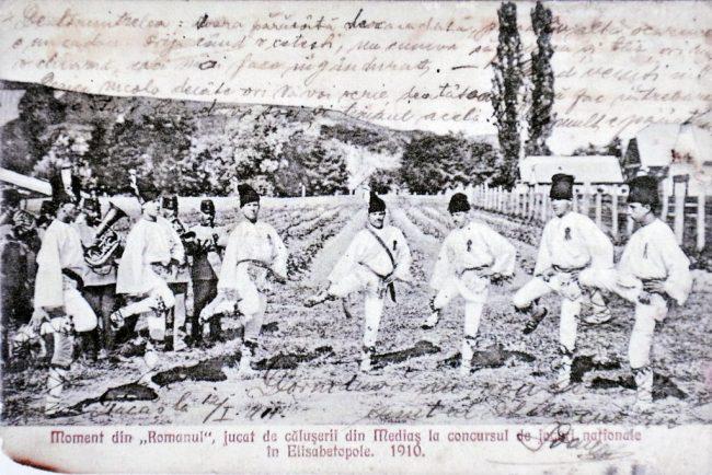 Foto-Calusari 1910 Dumbraveni