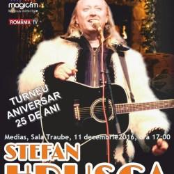 Concurs: Ofer cinci bilete la concertul Stefan Hrusca