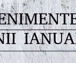 Evenimentele lunii ianuarie la Medias