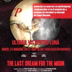 """Proiectia filmului """"Ultimul Vis pentru Luna"""""""