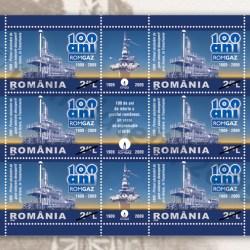 Industria Gazelor Naturale oglindita in filatelia romaneasca