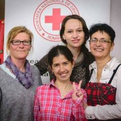 Crucea Rosie Subfiliala Medias este din nou alaturi de Spitalul Municipal Medias