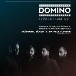 """Trupa DOMINO concerteaza in sprijinul proiectului """"Apa pentru sanatate – Spitalul Copiilor - Luther"""""""
