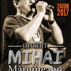 Mihai Margineanu canta sambata la Dumbraveni