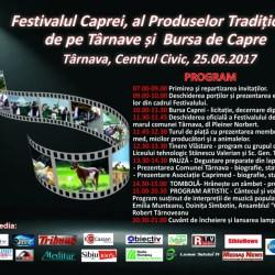 """Festivalul Caprei, al """"Produselor Traditionale de pe Tarnave"""" si """"Bursa de Capre"""""""