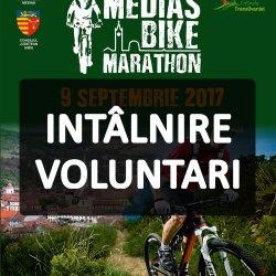Medias Bike Marathon: Intalnire voluntari