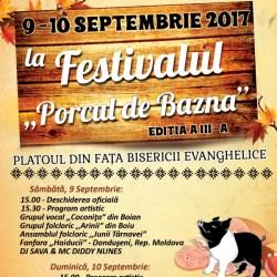 """Festivalul """"Porcul de Bazna"""", editia 2017"""