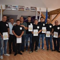 Copsa Mica: Juramantul noilor pompieri voluntari