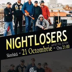 Nightlosers canta sambata la Sibiu