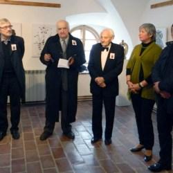 """Vernisajul expozitiei """"Emil Muresan – 87 de ani""""  (video)"""
