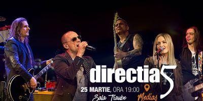 Castiga o invitatie dubla la concertul Directia 5