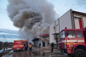 ISU Sibiu comunica oficial cauza probabila a incendiului de la Carrefour
