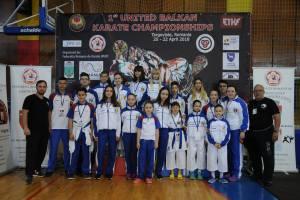 Clubul Sportiv Ippon Medias,  premiat la Campionatul Balcanic WUKF