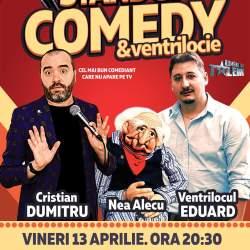 Cel mai interactiv spectacol de stand-up comedy din Romania, vineri la Medias