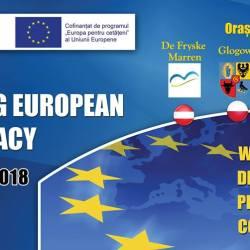 Tineri din patru tari vor dezbate, la Medias, democratia europeana