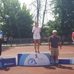 Atletism: Medieseanca Iulia Marginean este campioana nationala la 5000 metri