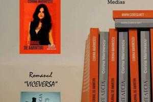 Corina Marinescu isi lanseaza cartile la Medias