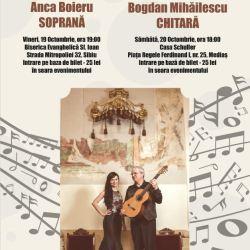 Anca Boieru revine sa cante la Medias
