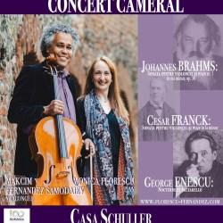 Florescu - Fernandez: Concert cameral la Casa Schuller