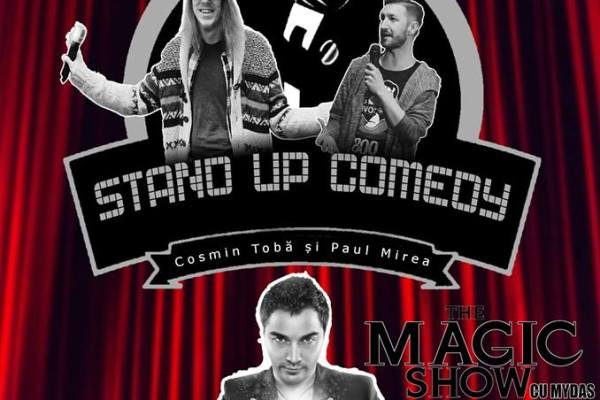 Stand up comedy si magie la Serabeva Club & Lounge
