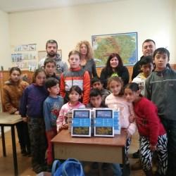 Tablete pentru scolarii din satul Zlagna