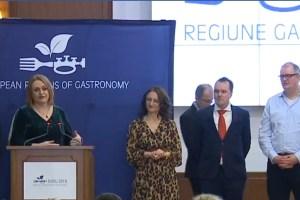 Ceremonia de transfer a titlului Sibiu Regiune Gastronomica Europeana (video)