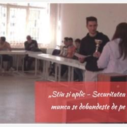 Elevi de la SNG Medias, premiati la un concurs ITM Sibiu