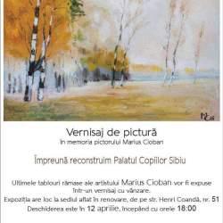 Expozitie in memoriam Marius Cioban