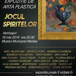 """Expozitie de arta plastica """"Jocul spiritelor"""""""