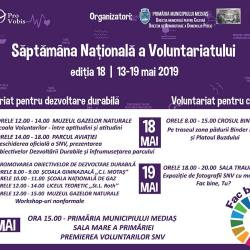 Saptamana Nationala a Voluntariatului la Medias