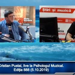 Cristian Pustai, invitatul lui Andrei Partos la Psihologul Muzical (video)
