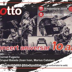 Castiga o invitatie dubla la concertul aniversar al Grupului Motto