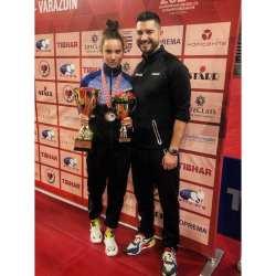 Andreea Dragoman a castigat doua medalii la europene