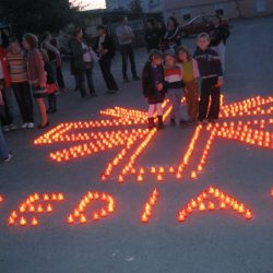 Acțiunea de solidaritate socială 1 Milion de stele este organizată online