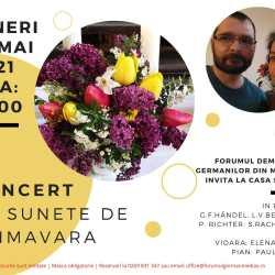 Concert cu sunete de primăvară la Casa Schuller