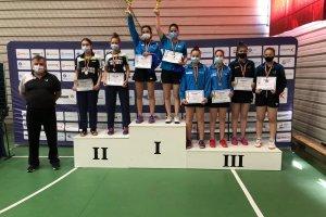 CSM Mediaş pe podium la naţionalele de tenis de masă