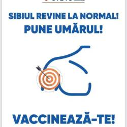 Maraton de vaccinare la Sibiu