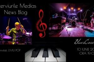 Liviu Pop (BluesCore) la Interviurile Mediaş News Blog (video)