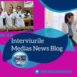 Şcoala Postliceală Auxila  la Interviurile Mediaş News Blog (video)